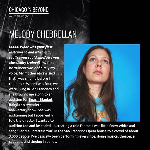 """Check out my interview with Chicago 'N Beyond """"how does sci-fi figure into your worldview?"""" . 🧟♀️💙Link in bio💙🧟♂️"""