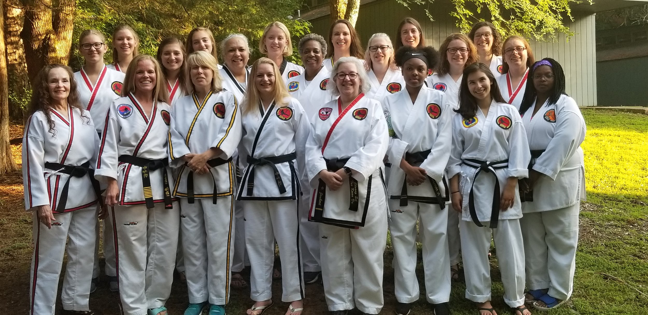 CTF Womens Black Belt Camp   2018