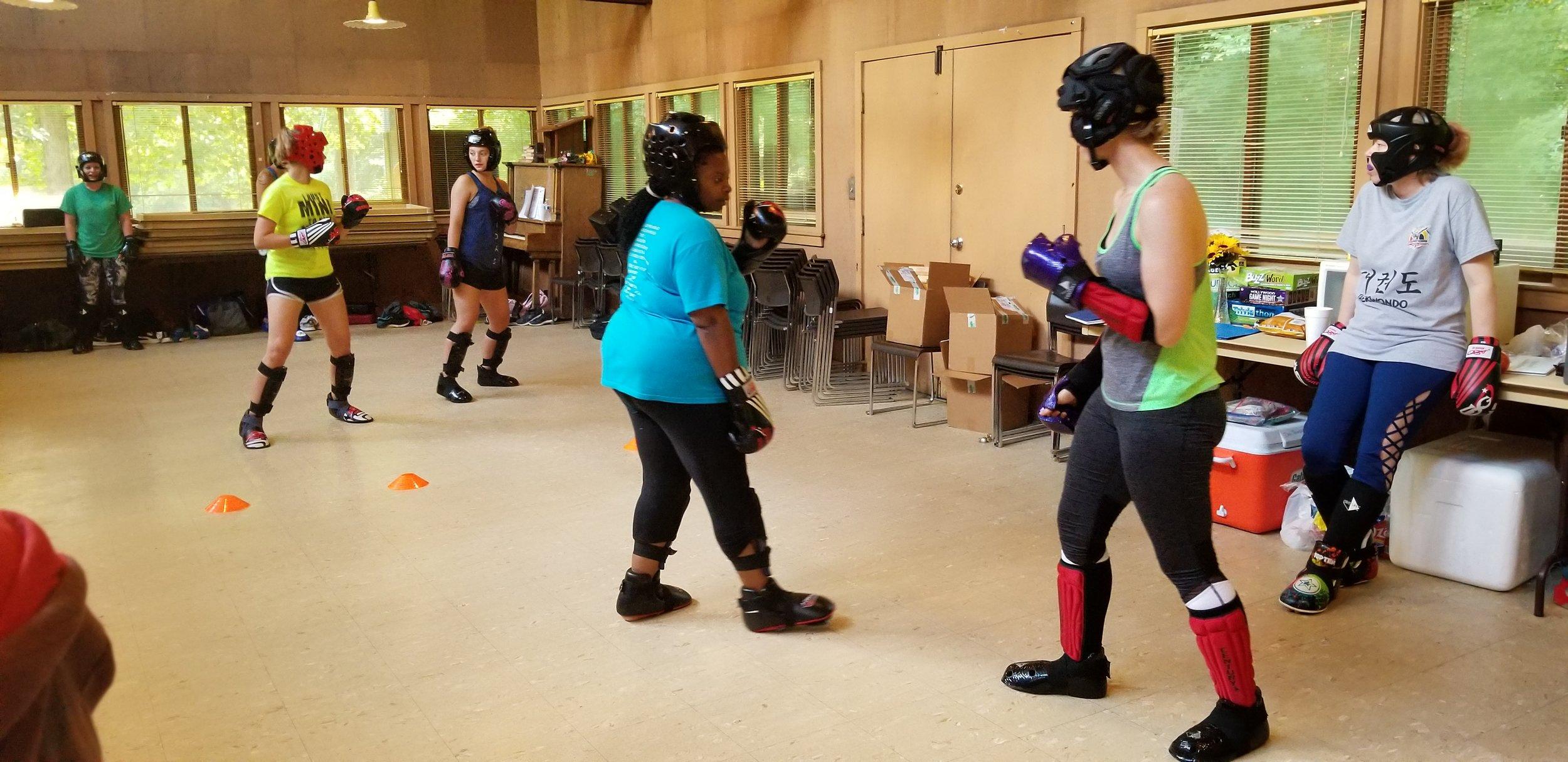 CTF Womens Black Belt Camp | 2018