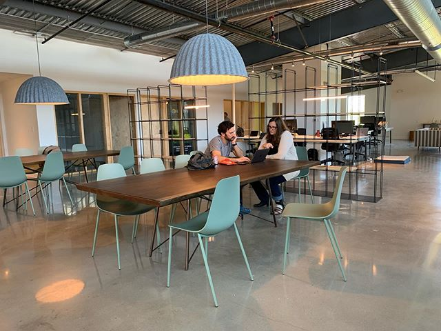It's a beautiful day in Austin and we're loving the light-filled space at Relay! Did you know our launch pricing specials are still running through the end of the month? And we're also giving away a whole year of FREE membership to Relay Coworking - head to the link in our bio to enter!