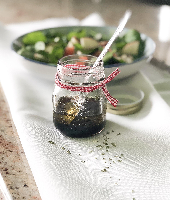 vinaigrette miel et balsamique