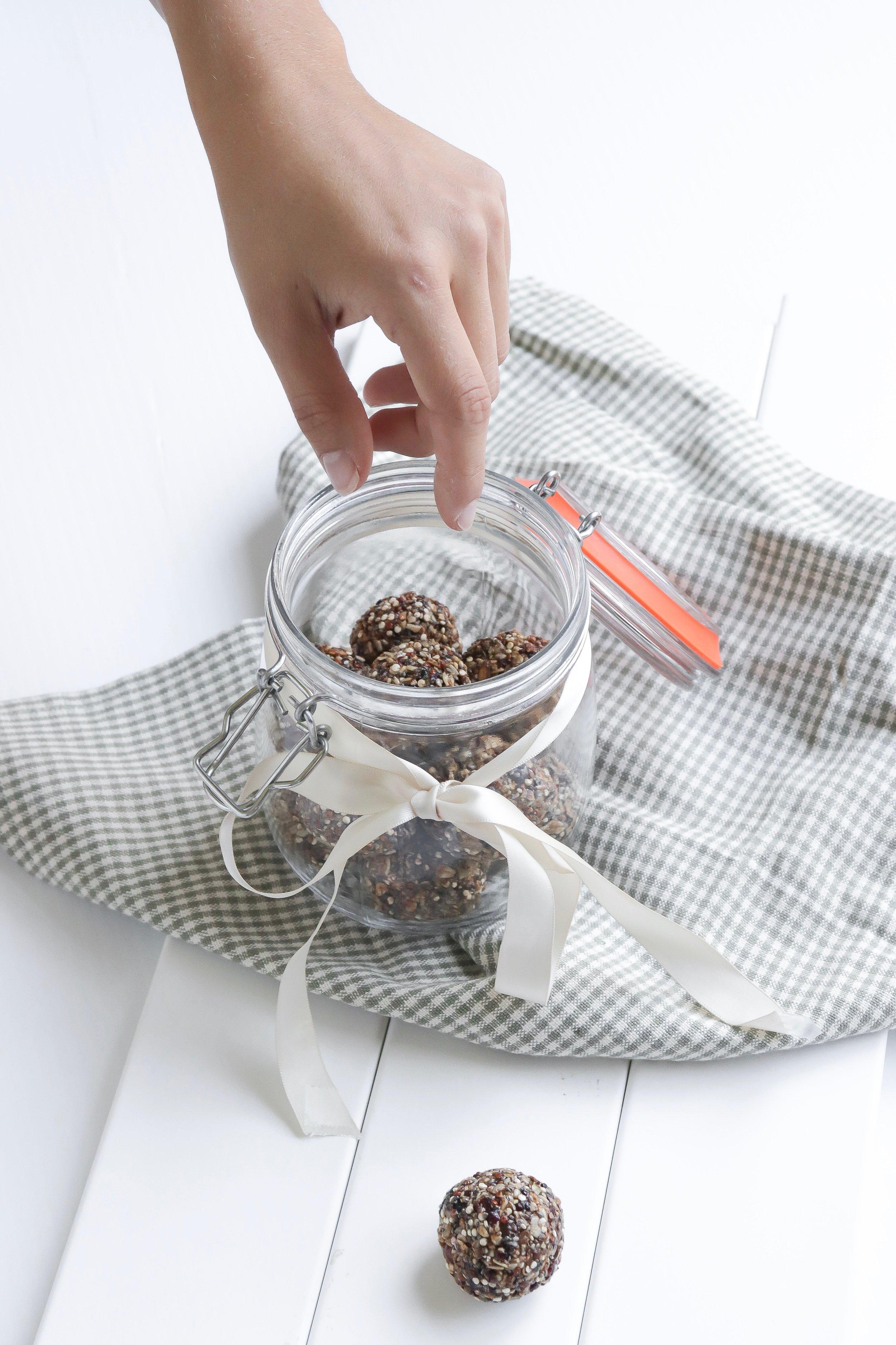 Boules d'énergie au quinoa