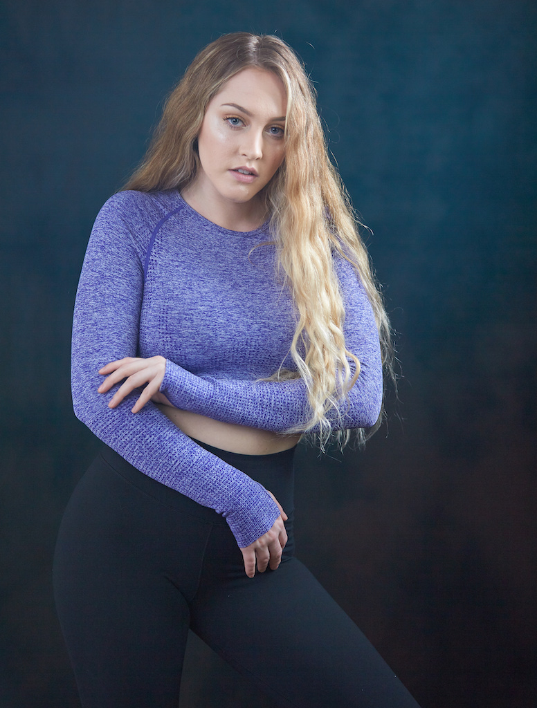 Fresno CA Fashion Photography - Female in workout clothes