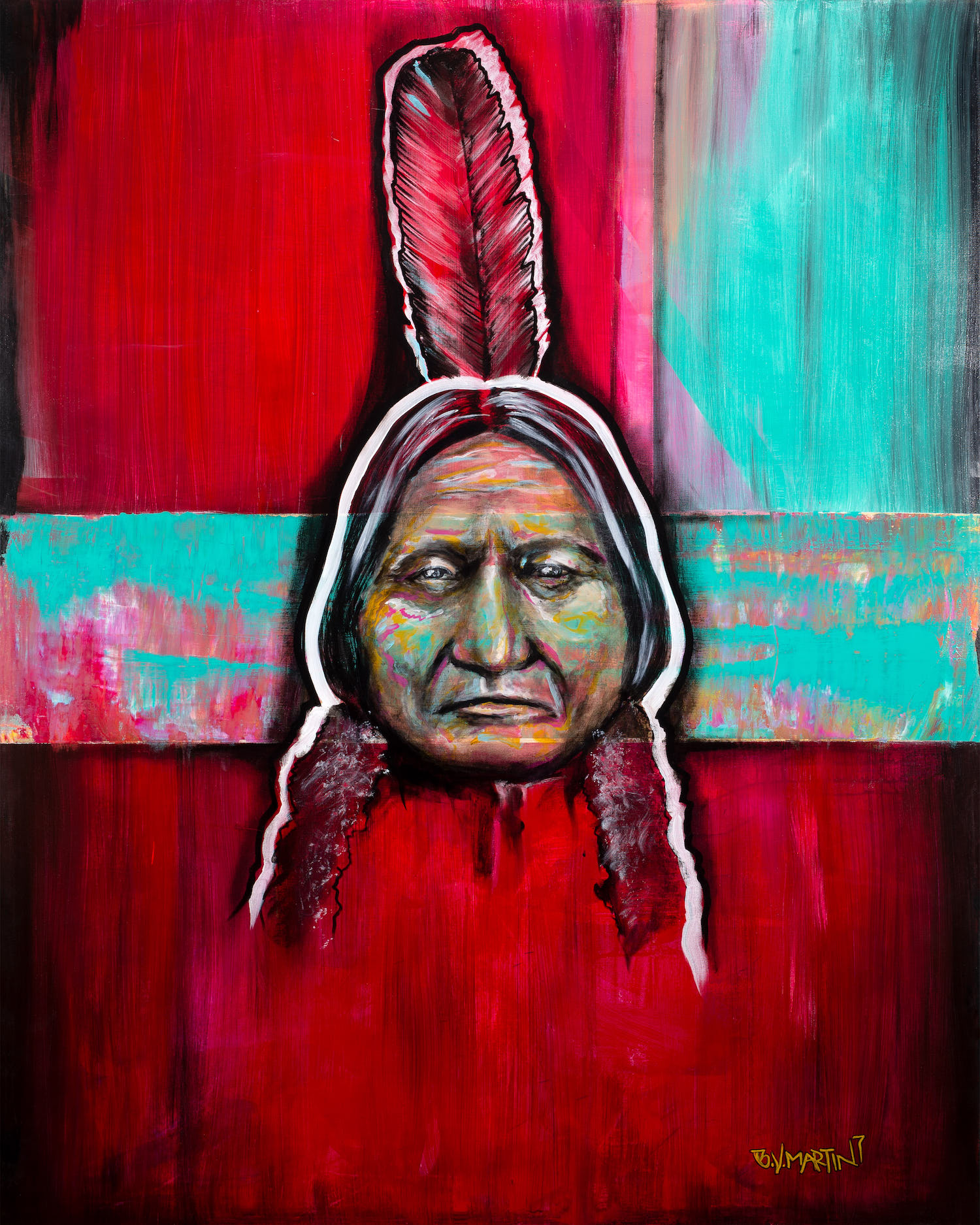 Art Photography Fresno California - Photo of Indian Art Painting