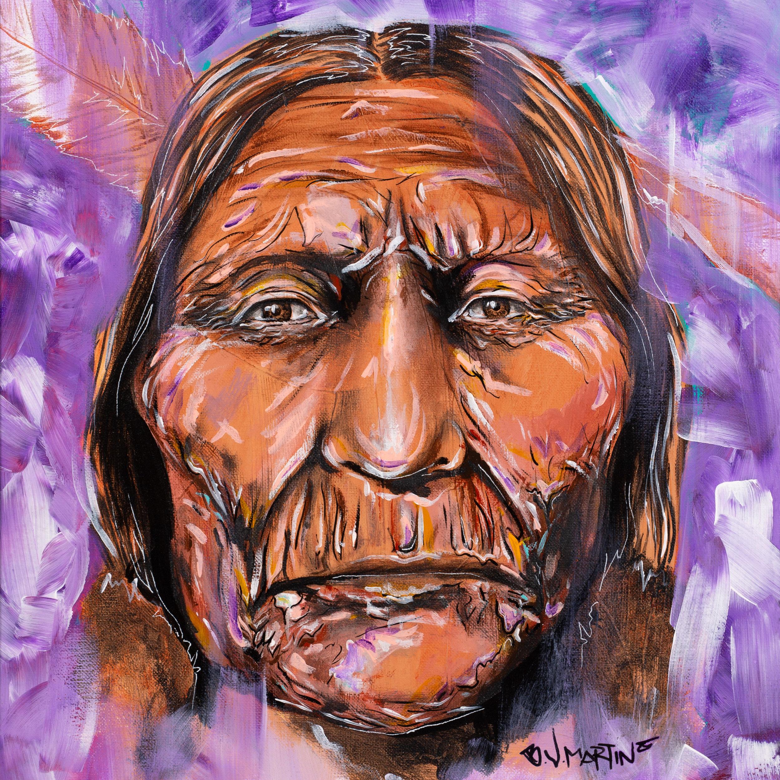 Fresno California Art Photography  - Photo of Indian Art Painting