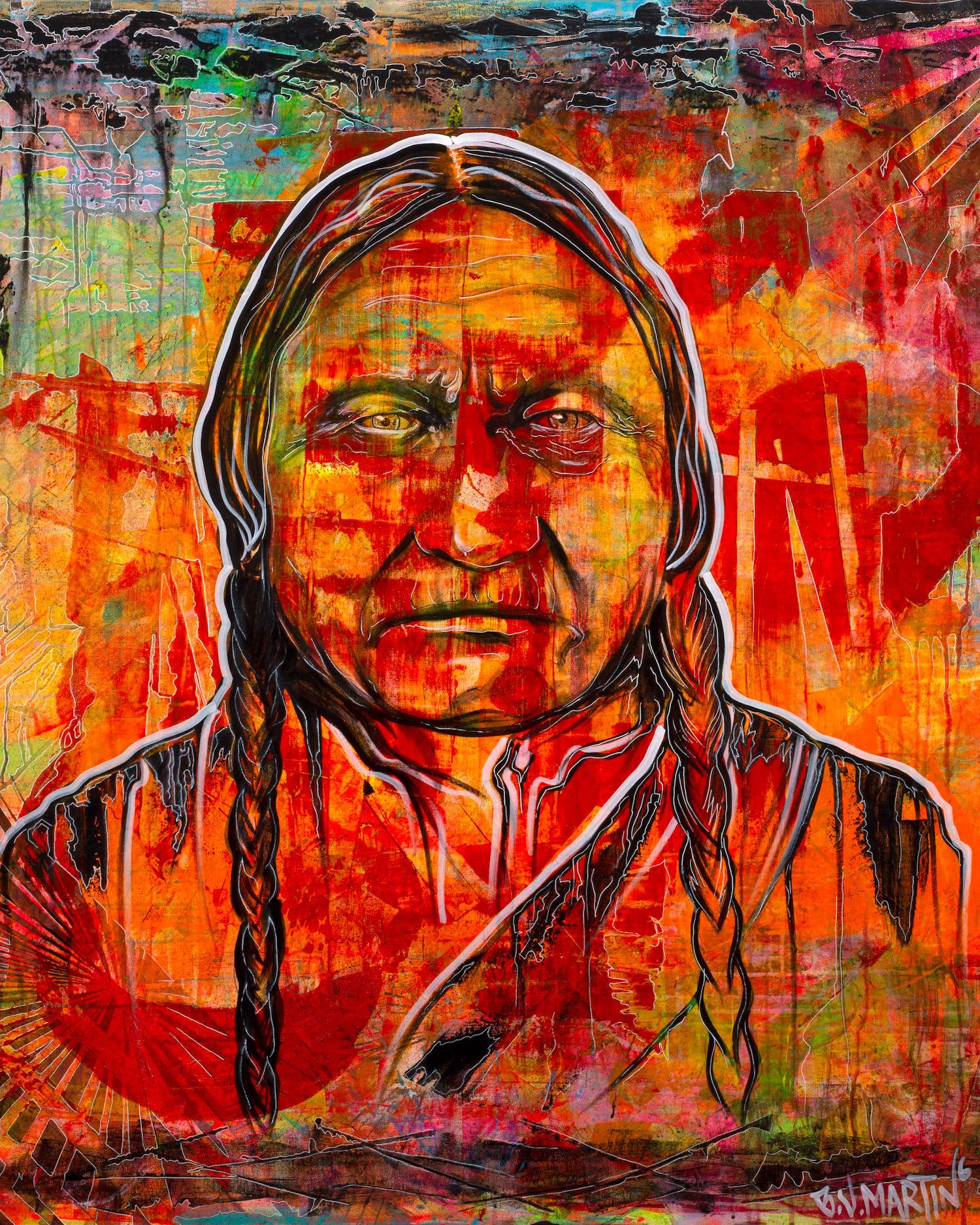 Fresno Calif. Art Photography  - Photo of Indian Art Painting