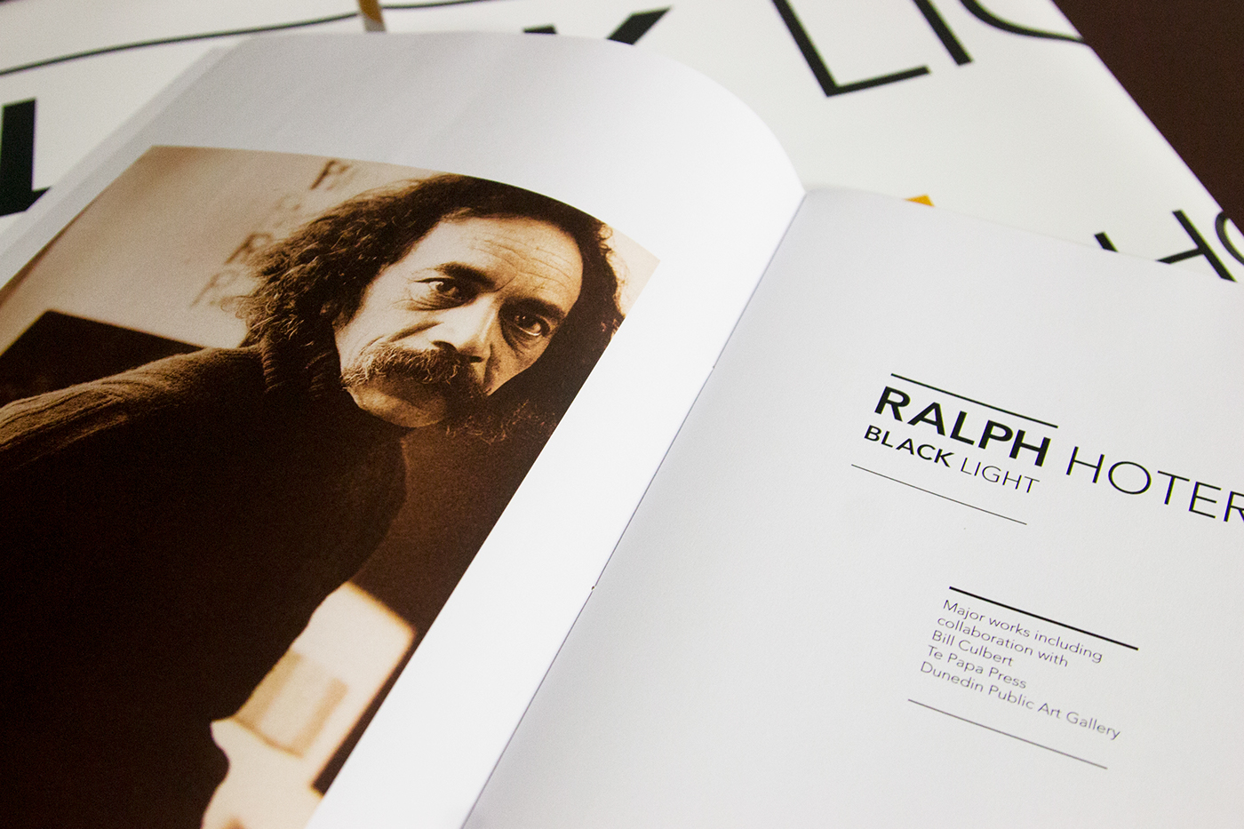 The Story of Ralph Hotere - EDITORIAL DESIGN