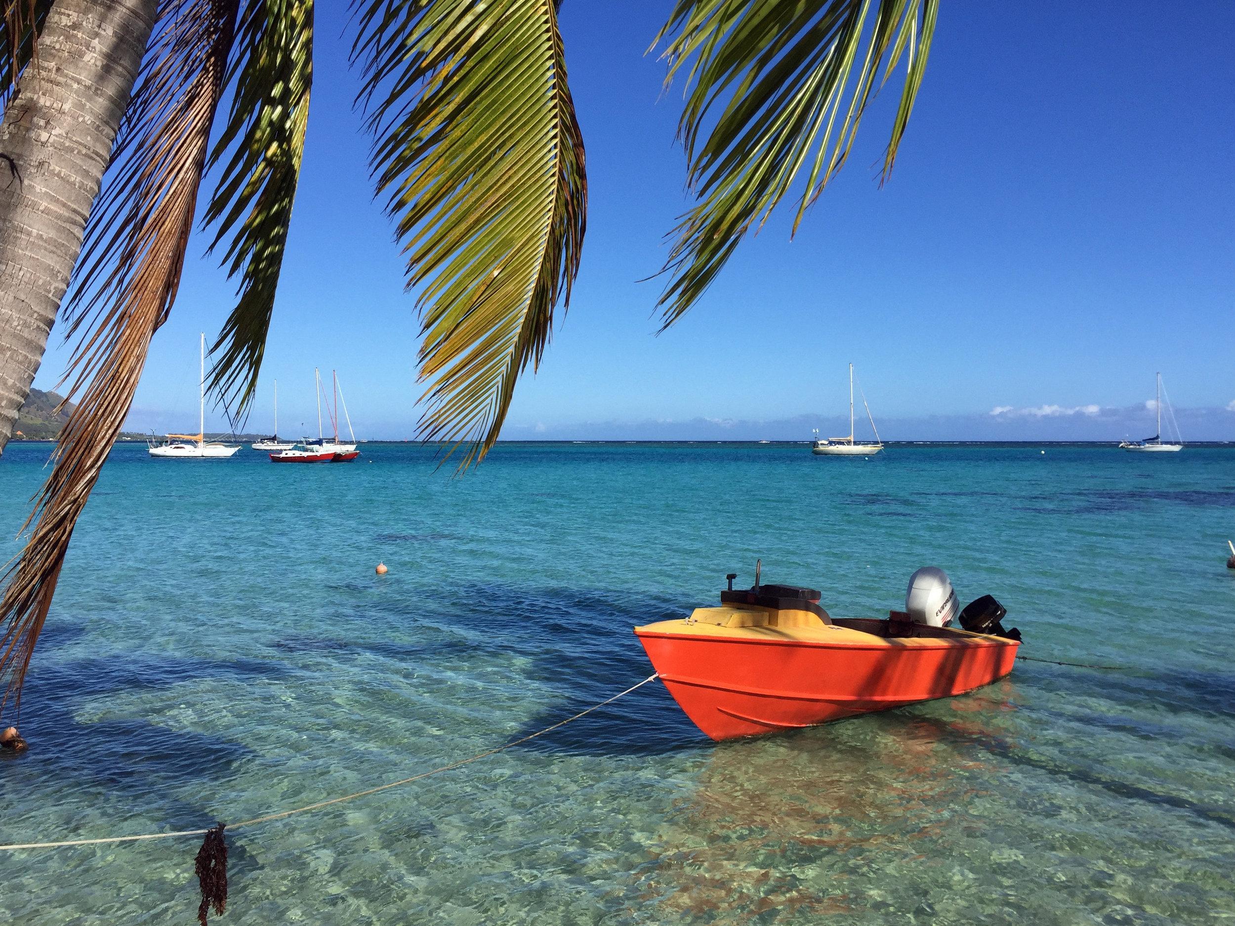 Moorea Boat