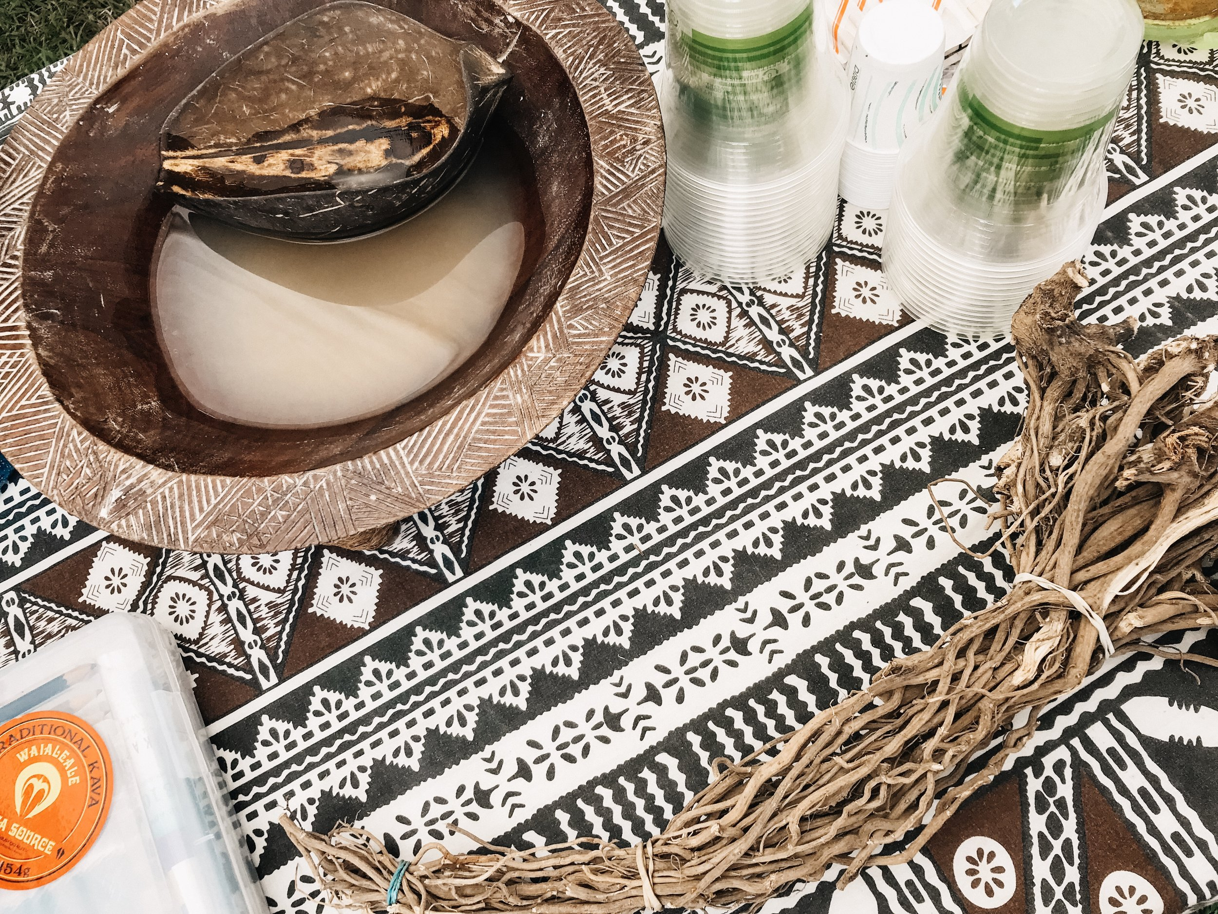 We sampled Kava - a root commonly used in Polynesian cultures to calm nerves and promote relaxation.