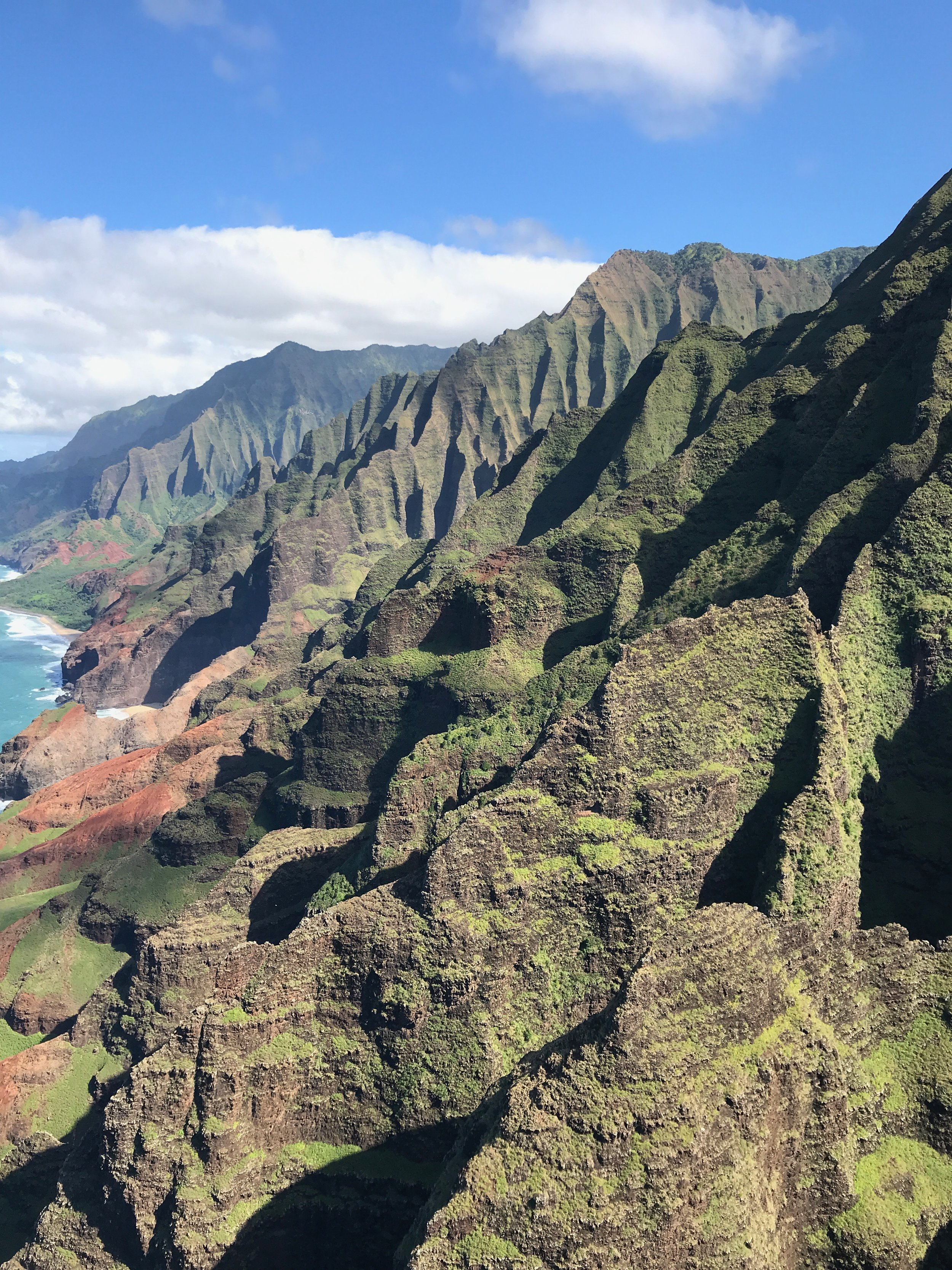 No filter needed here - the colors of the Na Pali are incredible.