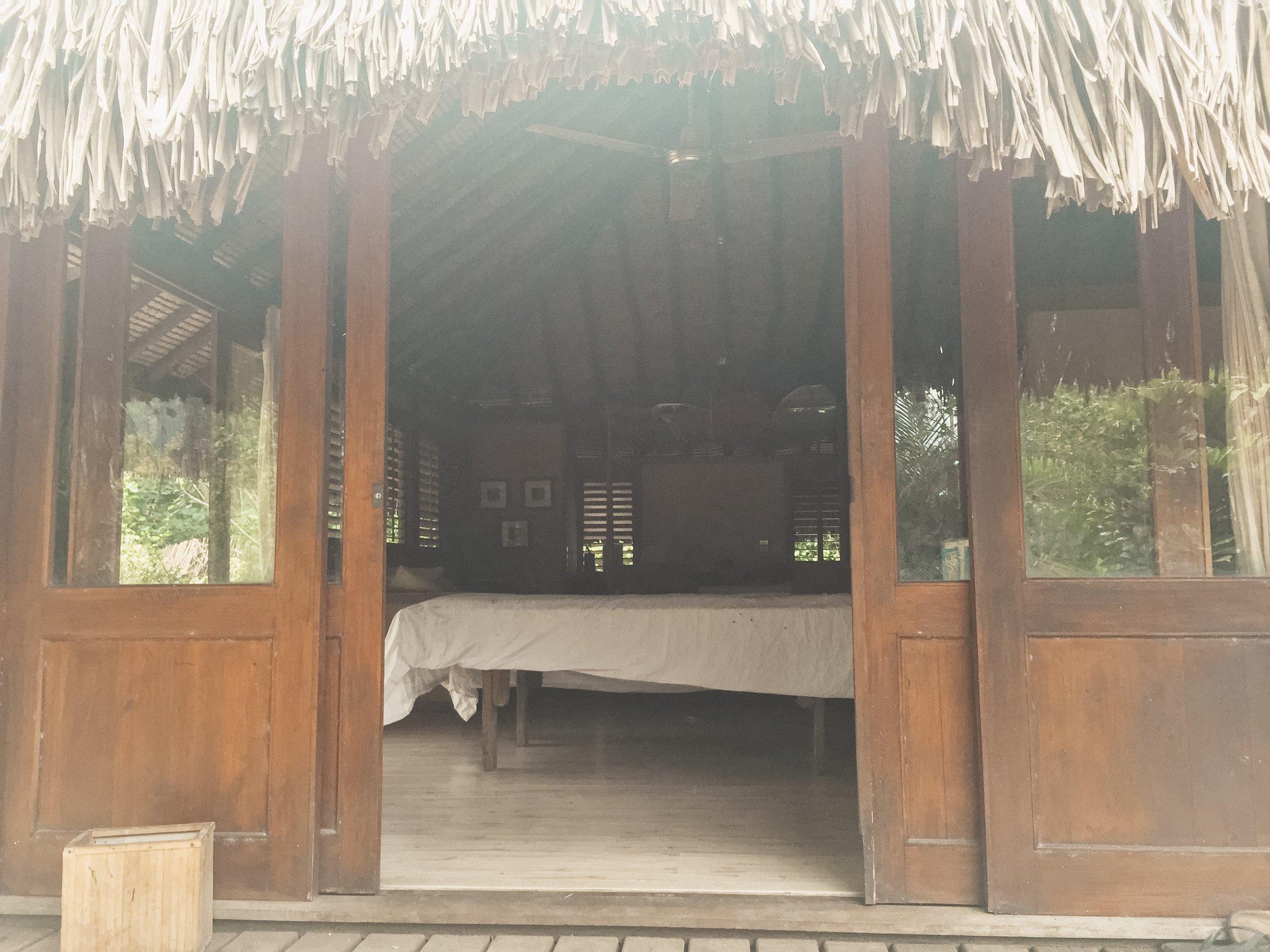 open air bungalow