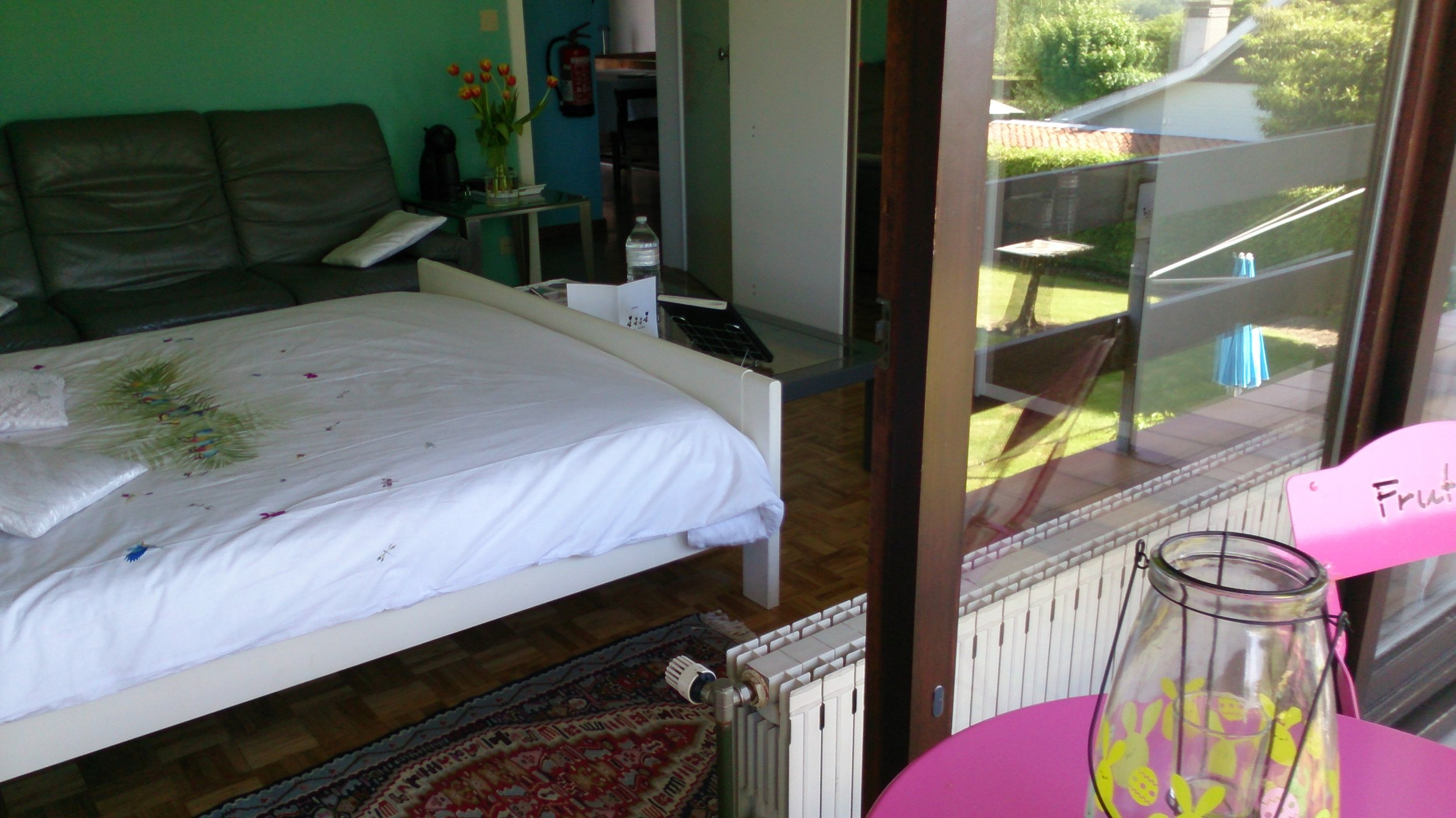 BBTRAMONTANA 2 persoonskamer 1 met terras en tuinzicht .JPG