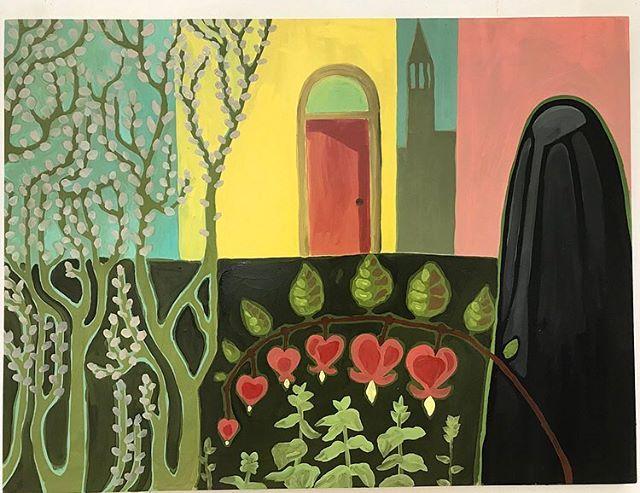 Untitled Oil on wood panel - - - - - - - - - - - #westernucreates #contemporaryart #canadianart #canadianartist #lockestreetshops #hamont #hamilton #hamiltonart #lockestreet #kirkendall #westernuniversity #oilpainting #artdeco #colourful #painting #art #art #canadian #canada #fistyear #memory #december #memories #fineart #watercolour #watercolor #watercolorpainting #london #londonontario
