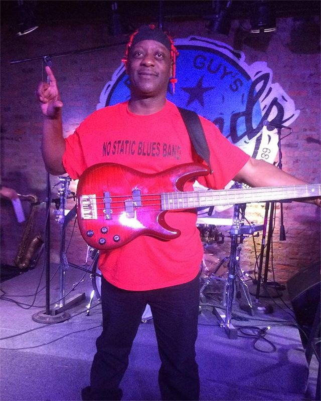 We got the one and only Jeff Labon on bass! Woo! 🙌🙌🙌 @jefferylabon4758 • • • #music #blues #marylane #nostatic #bluesband #bluesmusic #documentary #film #bass #chicago #chicagomusic #buddyguy #buddyguyslegends #power #soul