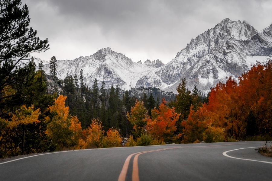 Road Near  Rock Creek Lake