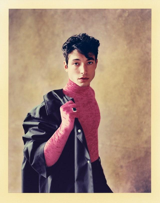 Jacket: Balenciaga ($9,000); turtleneck: Balenciaga ($1,190); pants: Balenciaga ($895); ring, John Hardy ($795)
