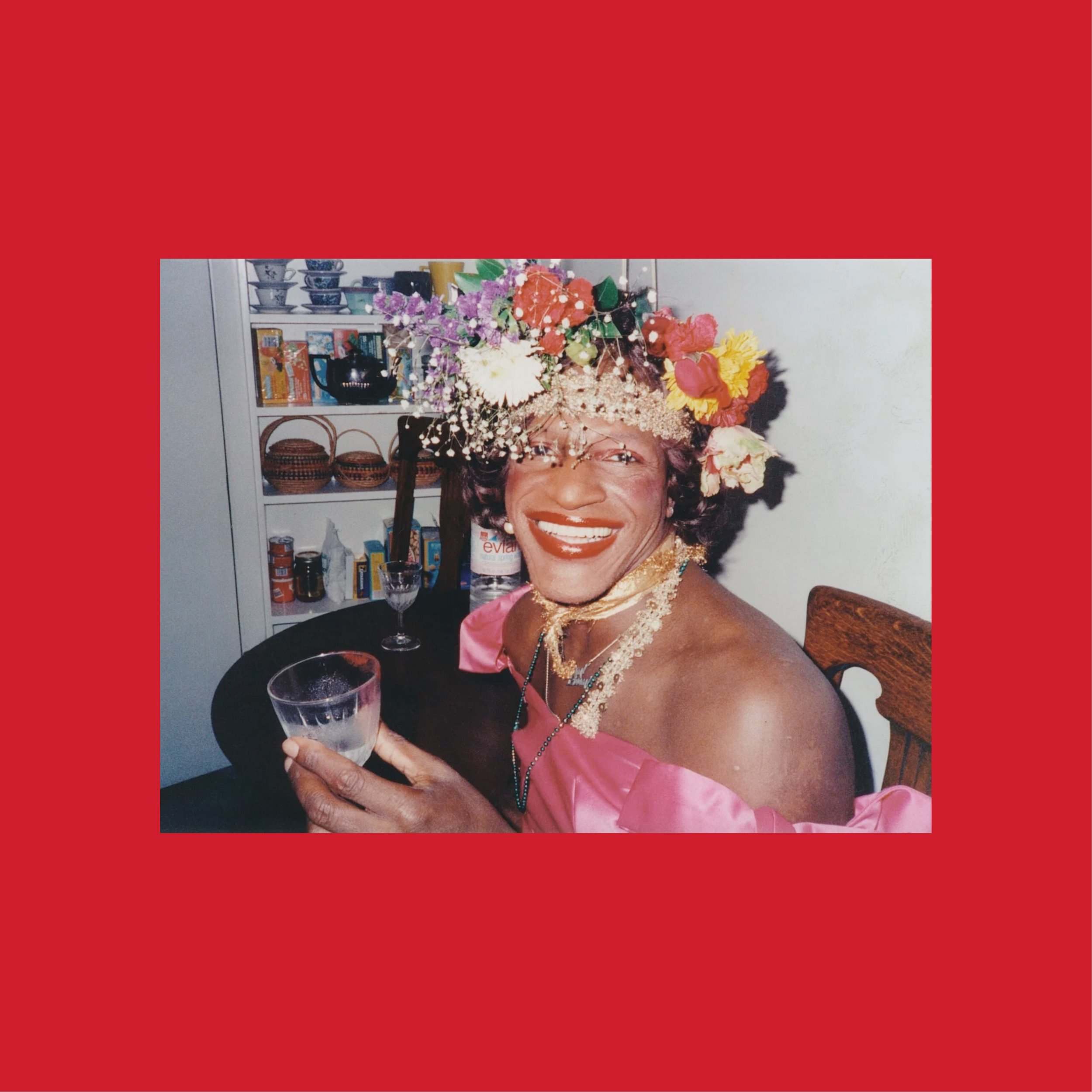 Marsha P. Johnson /  Original photo from Biography.com