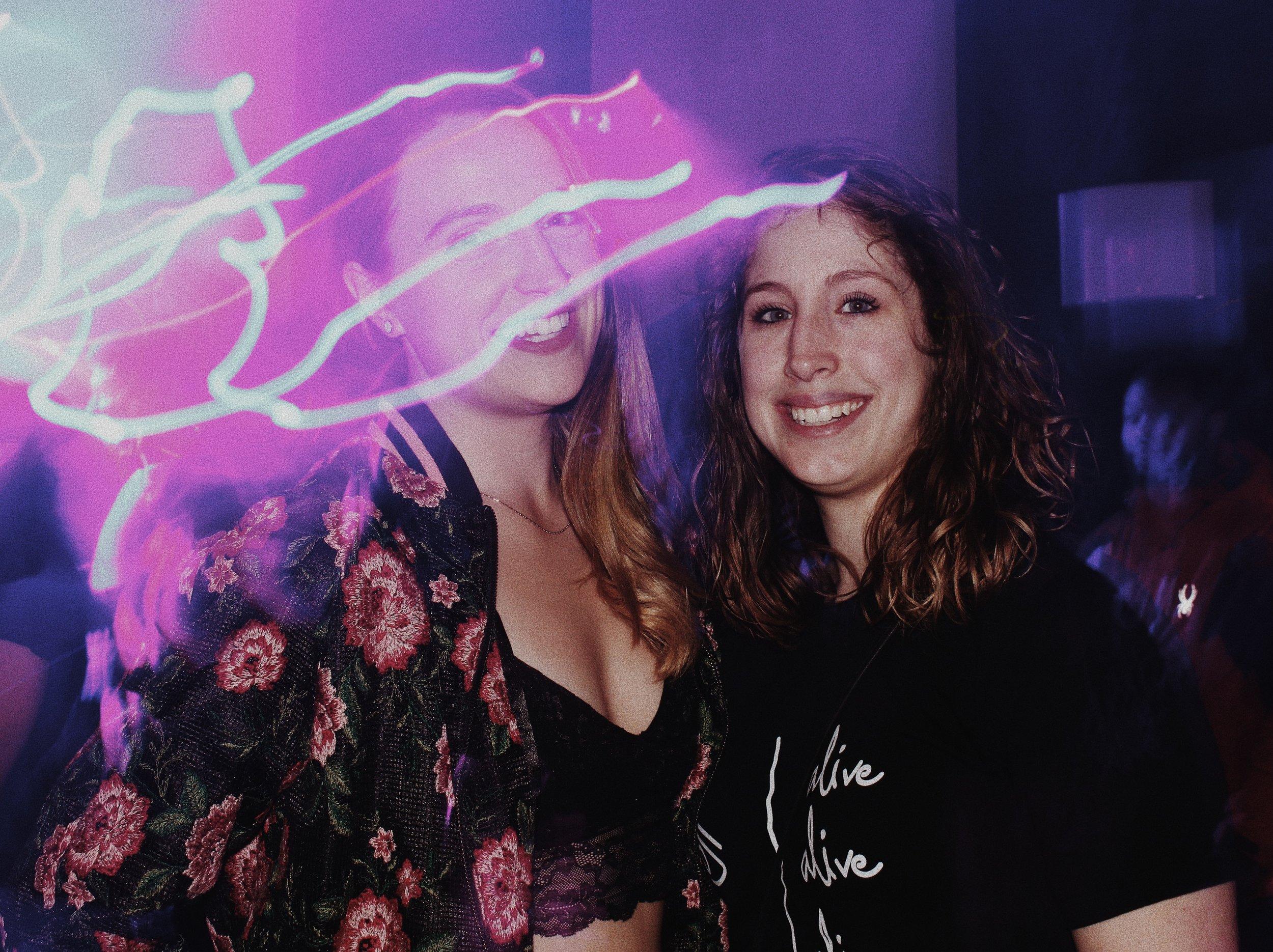 Kristen Voorhees and Dani Kightlinger of QREW D.C.