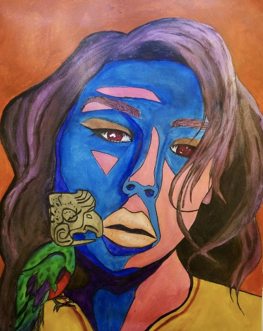 """Isolation"" / Art by  Sonali Tzul"