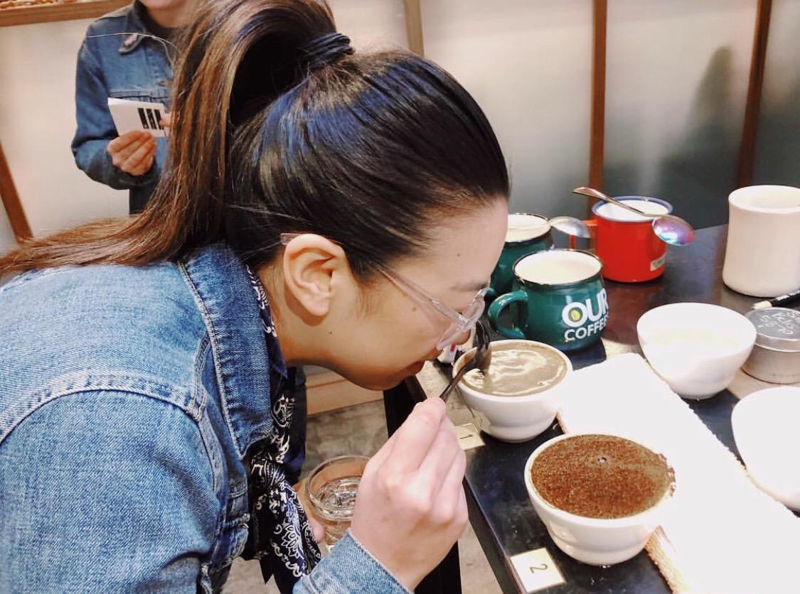Kiana Cruz, roaster at Progeny Coffee