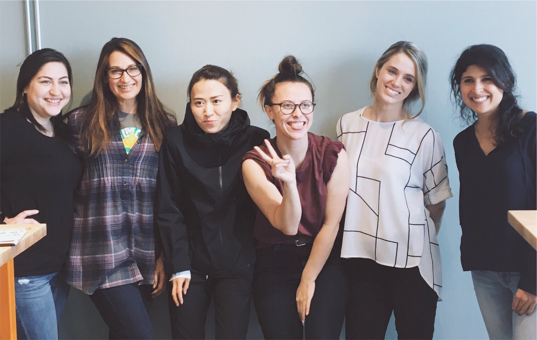 The women of my Q-Course cohort, 2017