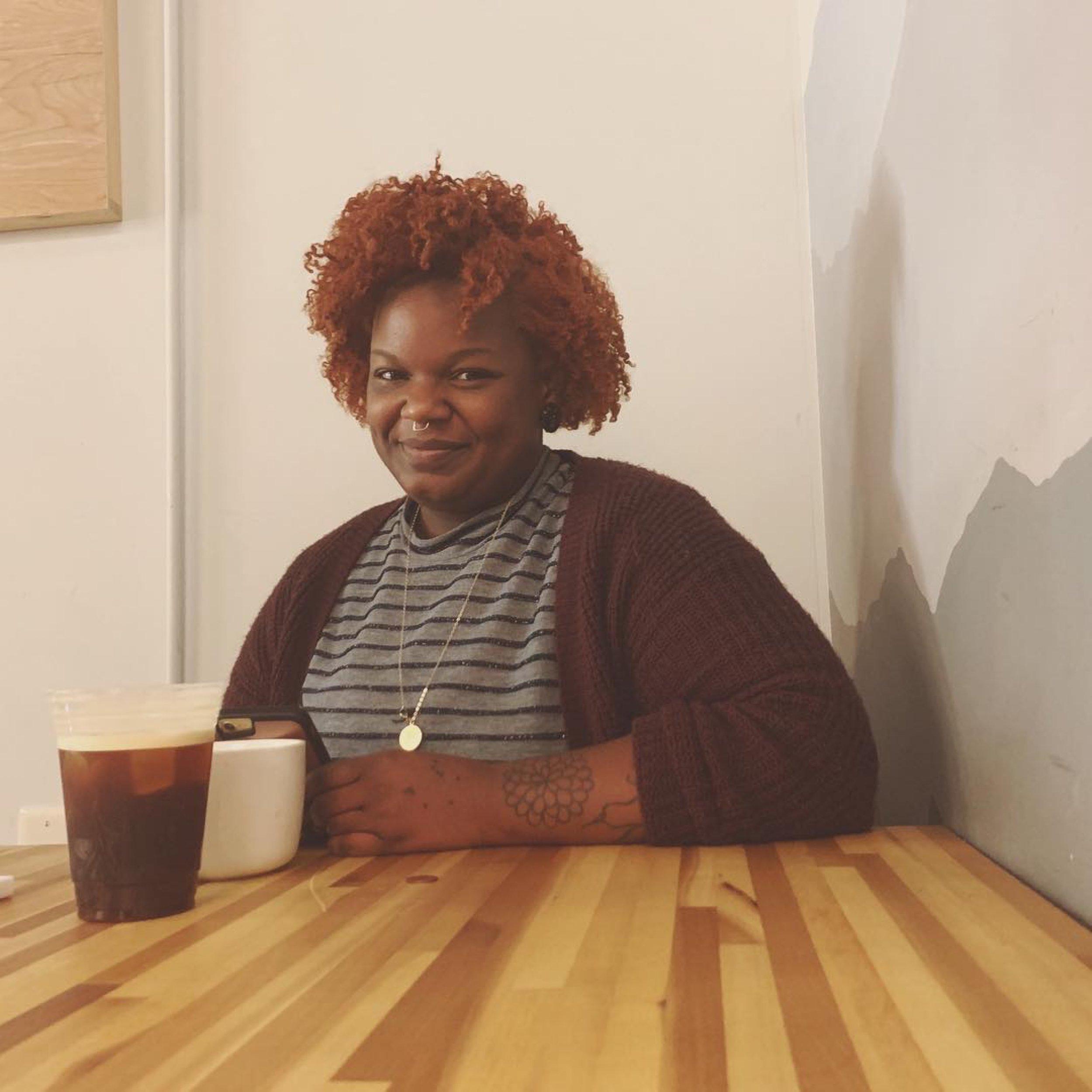 Cydni Patterson, Barista at Caffé Driade