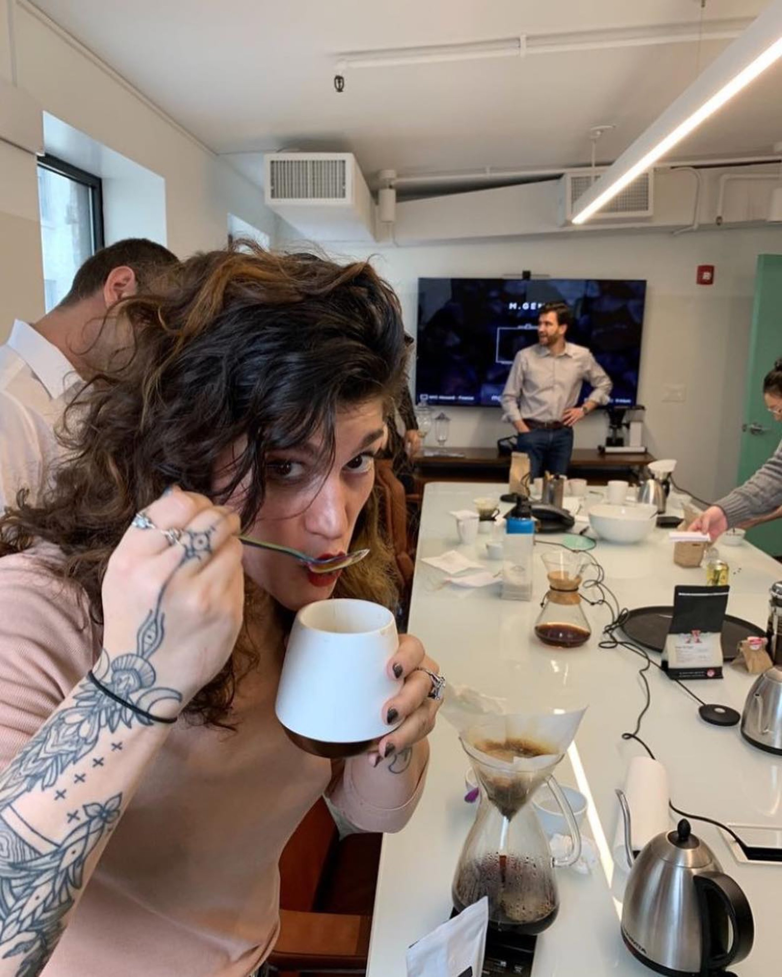 Erika Vonie, Director of Coffee at Trade