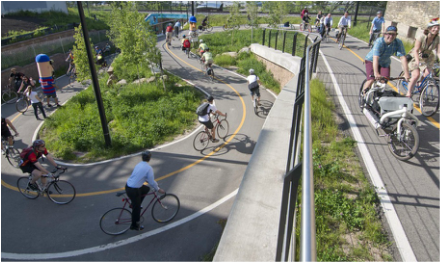 2010 - The Valley Passage opened, once again connecting the Menomonee River Valley and Silver City neighborhoods.
