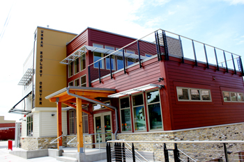 2012 - The Urban Ecology Center - Menomonee Valley opens to the public, providing environmental programming to the neighborhood and its schools.
