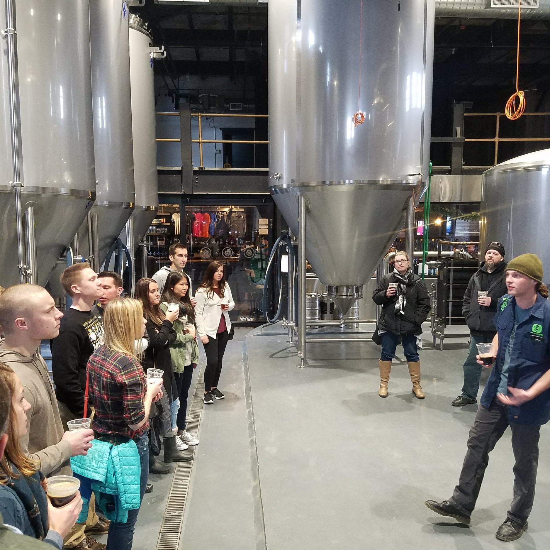 City Lights Brewing - With buildings designed by the famous Alexander Eschweiler, the first steel exported from Pennsylvania by Andrew Carnegie and brickwork hand-glazed by Tiffany; the City Lights tour will amaze, educate and delight you.