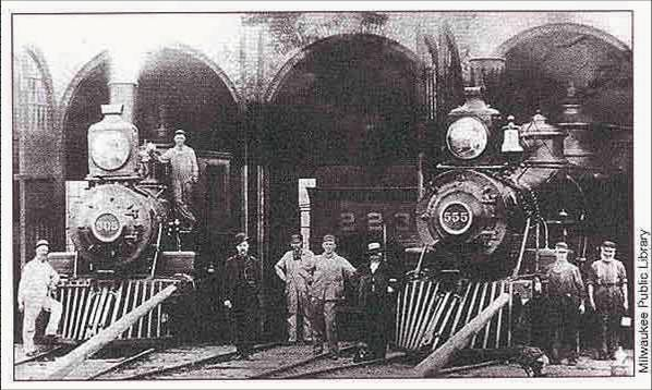 Milwaukee Road workers
