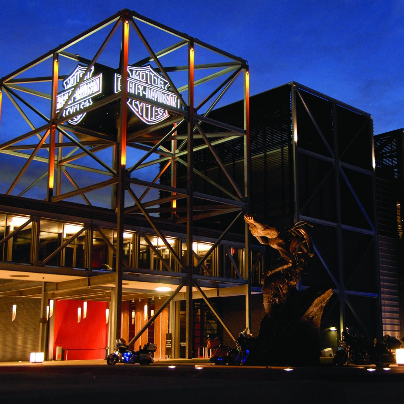 Harley-Davidson Museum® - History roars to life at the Harley-Davidson Museum.® It's the best of American design and culture – seasoned with freedom and rebellion, showcased in a landmark building. See why the Museum is one of Milwaukee's top tourist destinations.