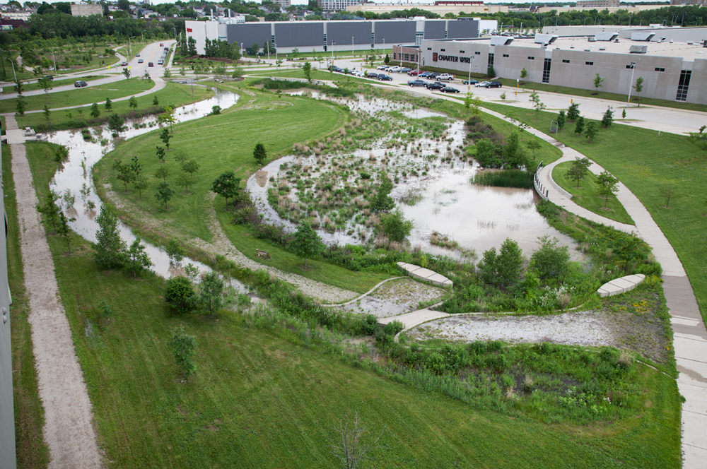 Present Day - Nationally recognized sustainable business park