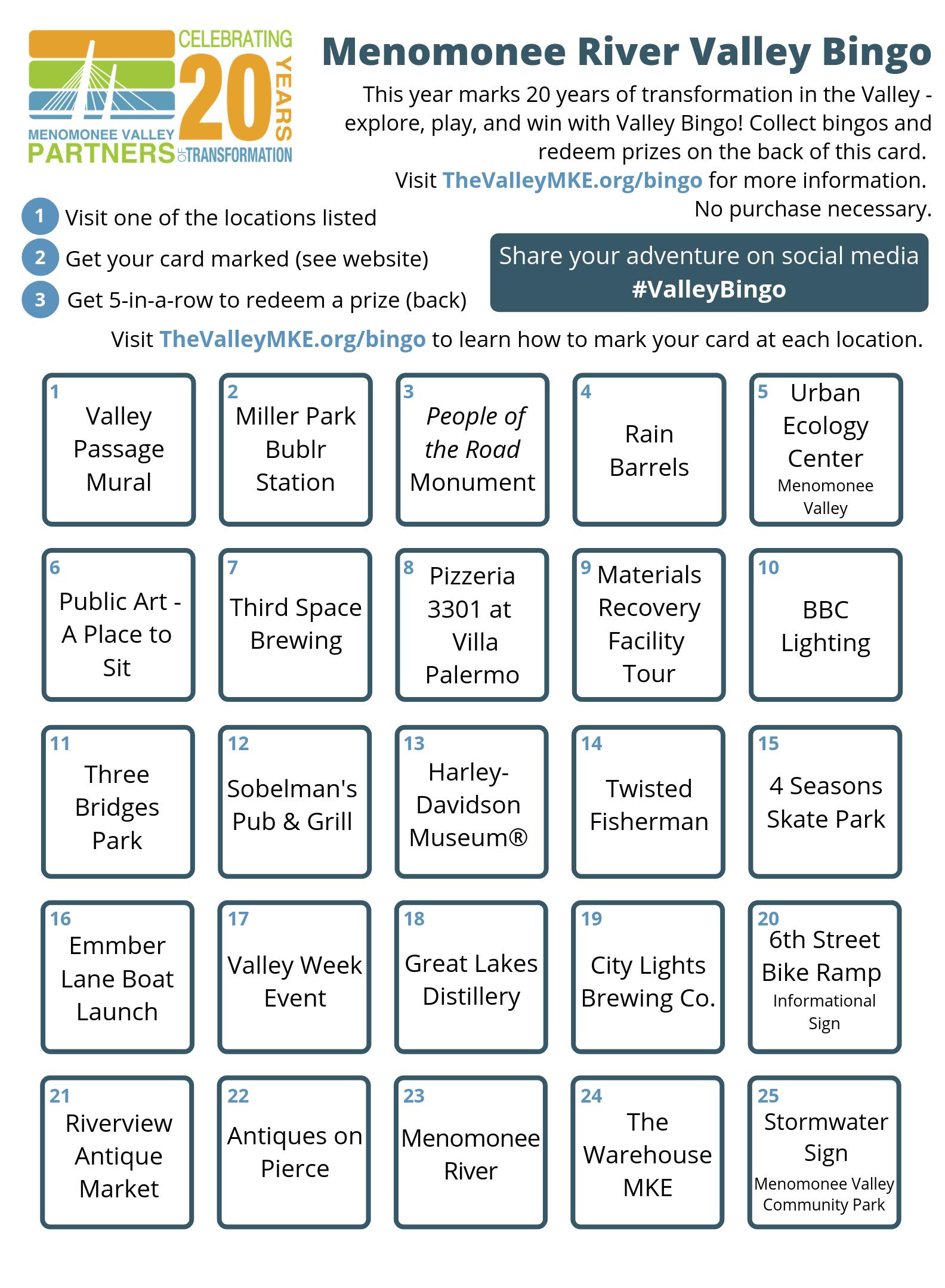 Click to view bingo card.