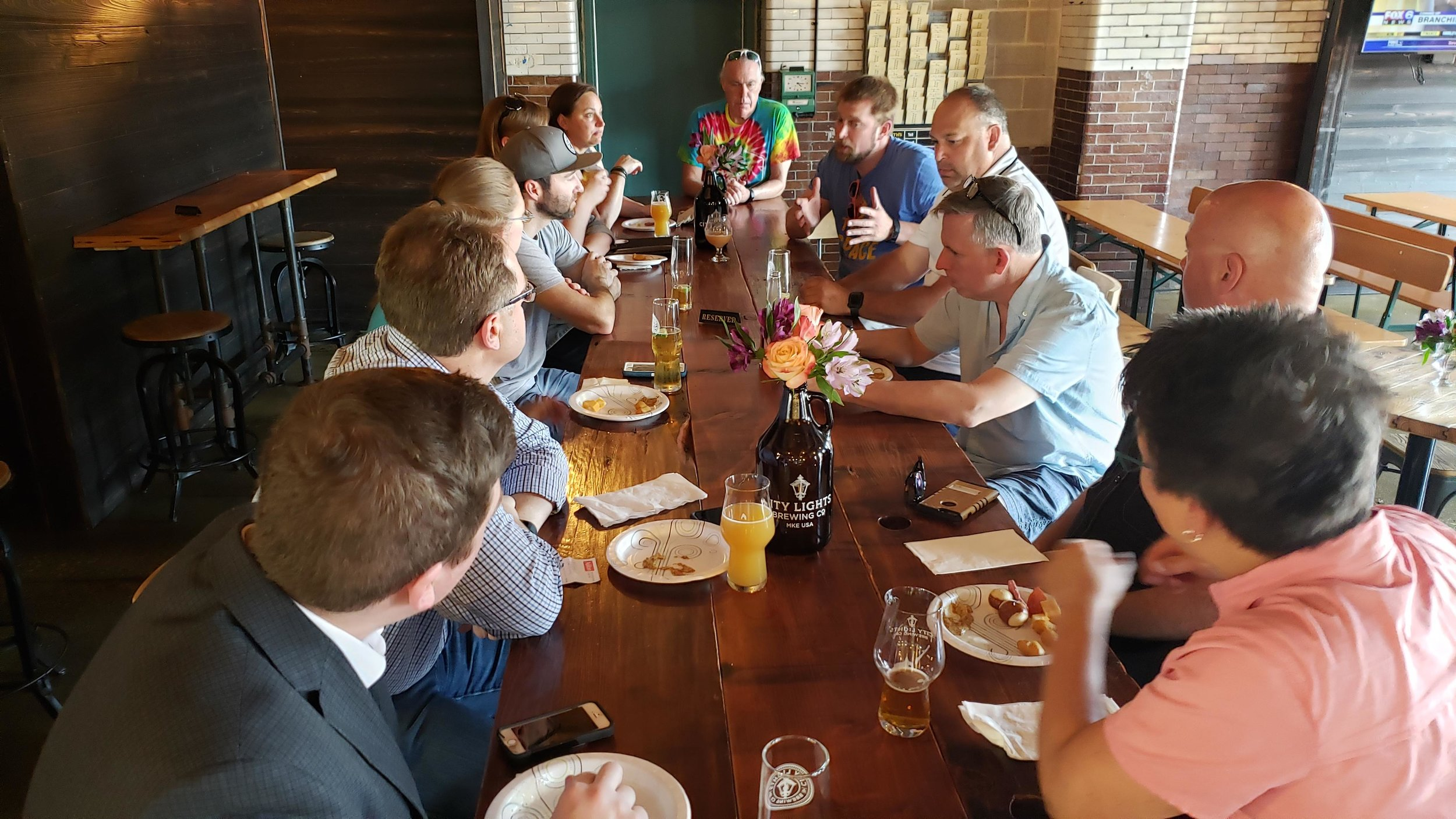 Valley businesses got together to brainstorm a beer that would reflect the Valley's history as well as what it is today, a vibrant neighborhood filled with urban nature, good jobs, and popular destinations