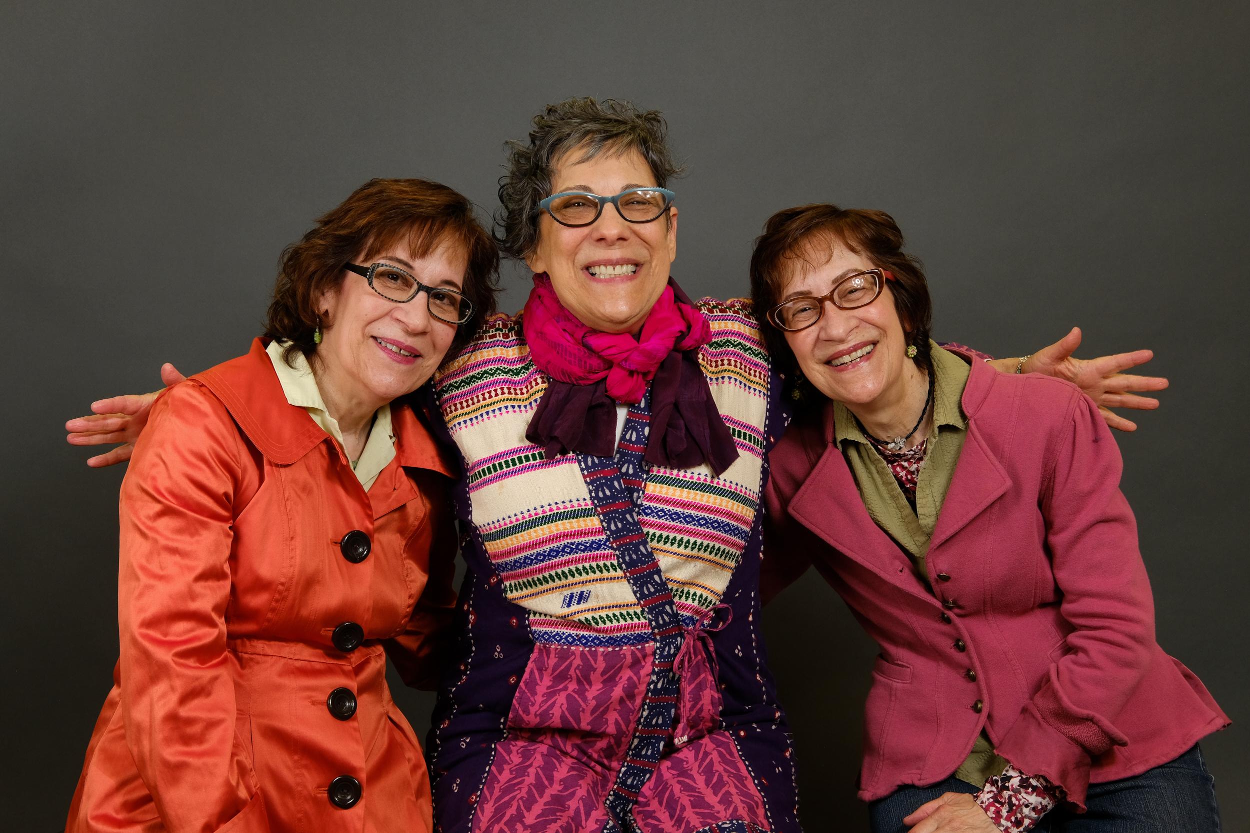 Laura, Deborah, and Leslie Hirshfield