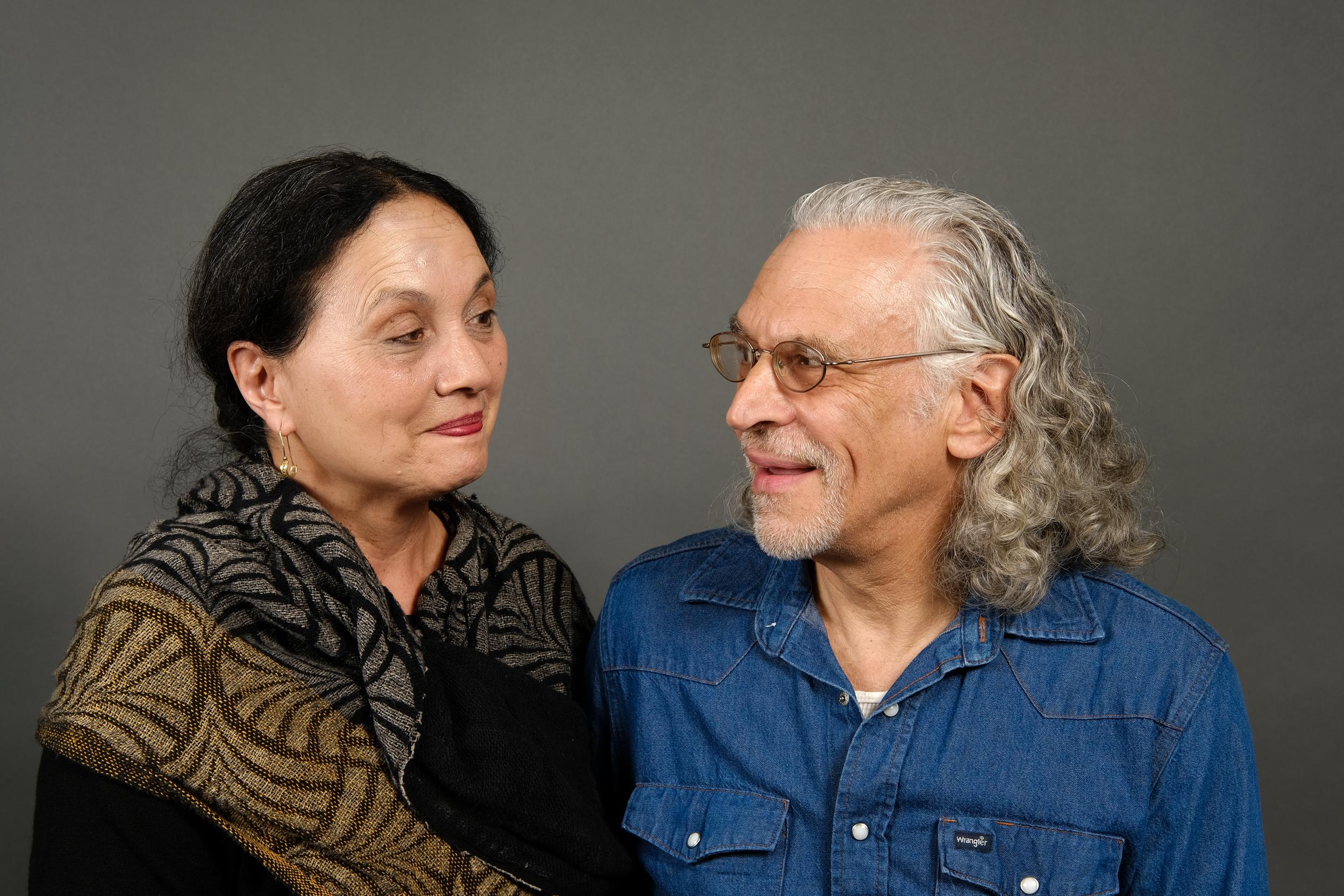 Mariko Ventura and David Cohen