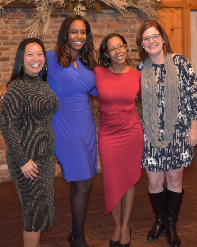 LEAD FOR DELAWARE, COHORT 2 - From left to right:Julia Li, Assistant Principal at Freire Charter SchoolBethelehem Yirga, Founding Principal at Great Oaks Charter SchoolSara Toussaint-Moody, Assistant Principal at Charter School of New CastleJennifer Leach, Assistant Principal at Shields Elementary SchoolAmanda Crisci (not pictured), Special Education Coordinator at Seaford High School.