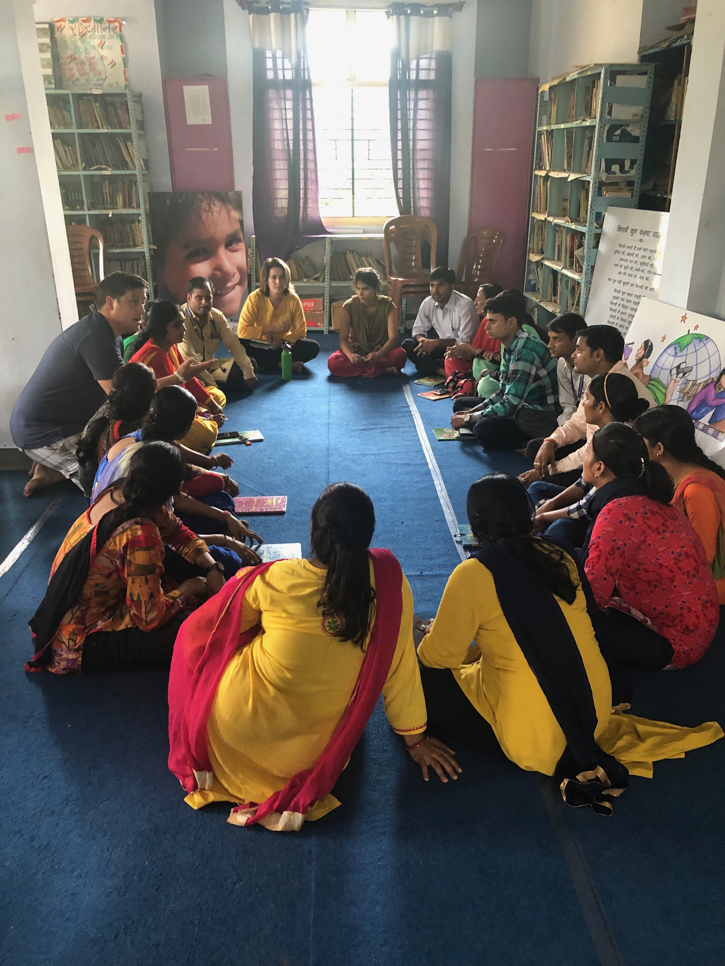 Lead For Delaware trains teachers in rural India.
