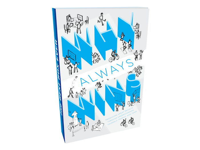 Why Always Wins - Tech consultant Stephen Gay had an idea for a business communication guide done in the form of a graphic novel. With a little help from Matt as his freelance editor, Stephen found his artist, had help turning his scripts into comic book layouts, and met his book designer.Now, Stephen's book is in print.