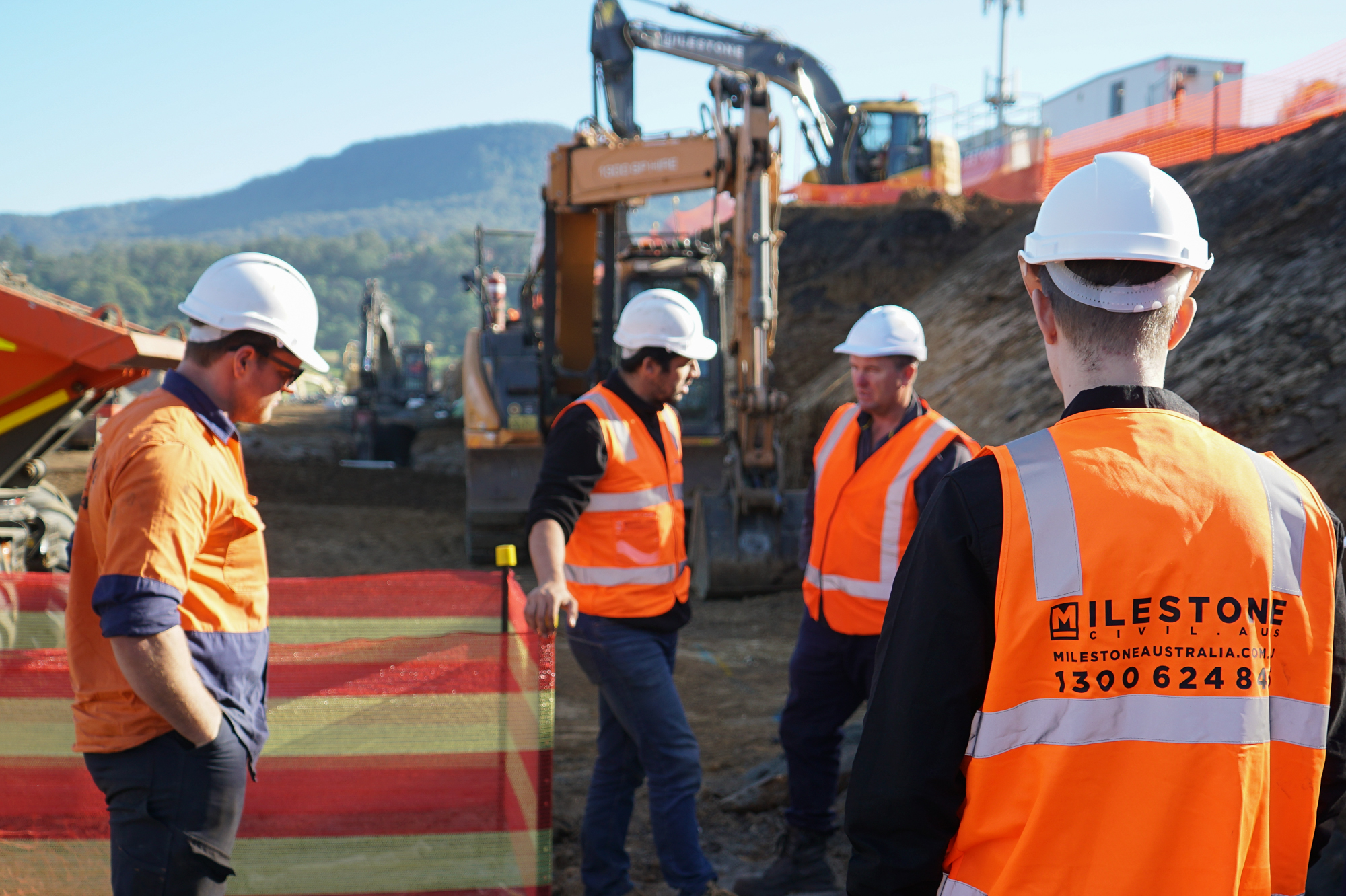 Milestone Civil Australia People Onsite
