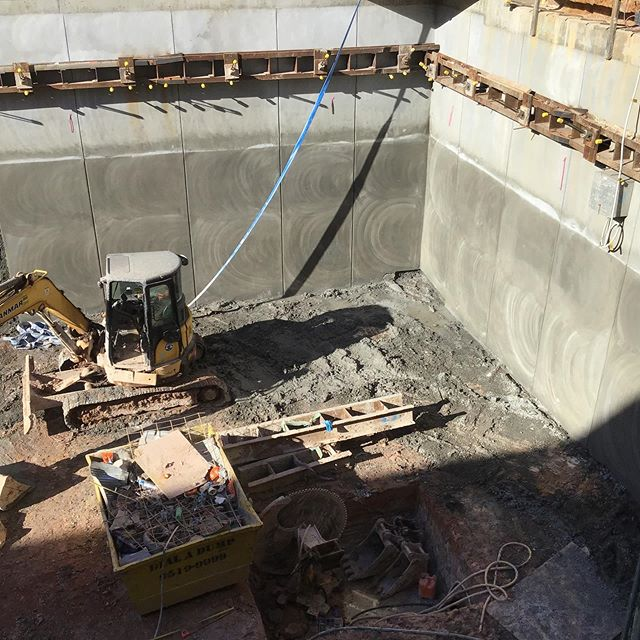 Shotcrete is 90% complete at Mosman Project. Great to see the project is ahead of programme.