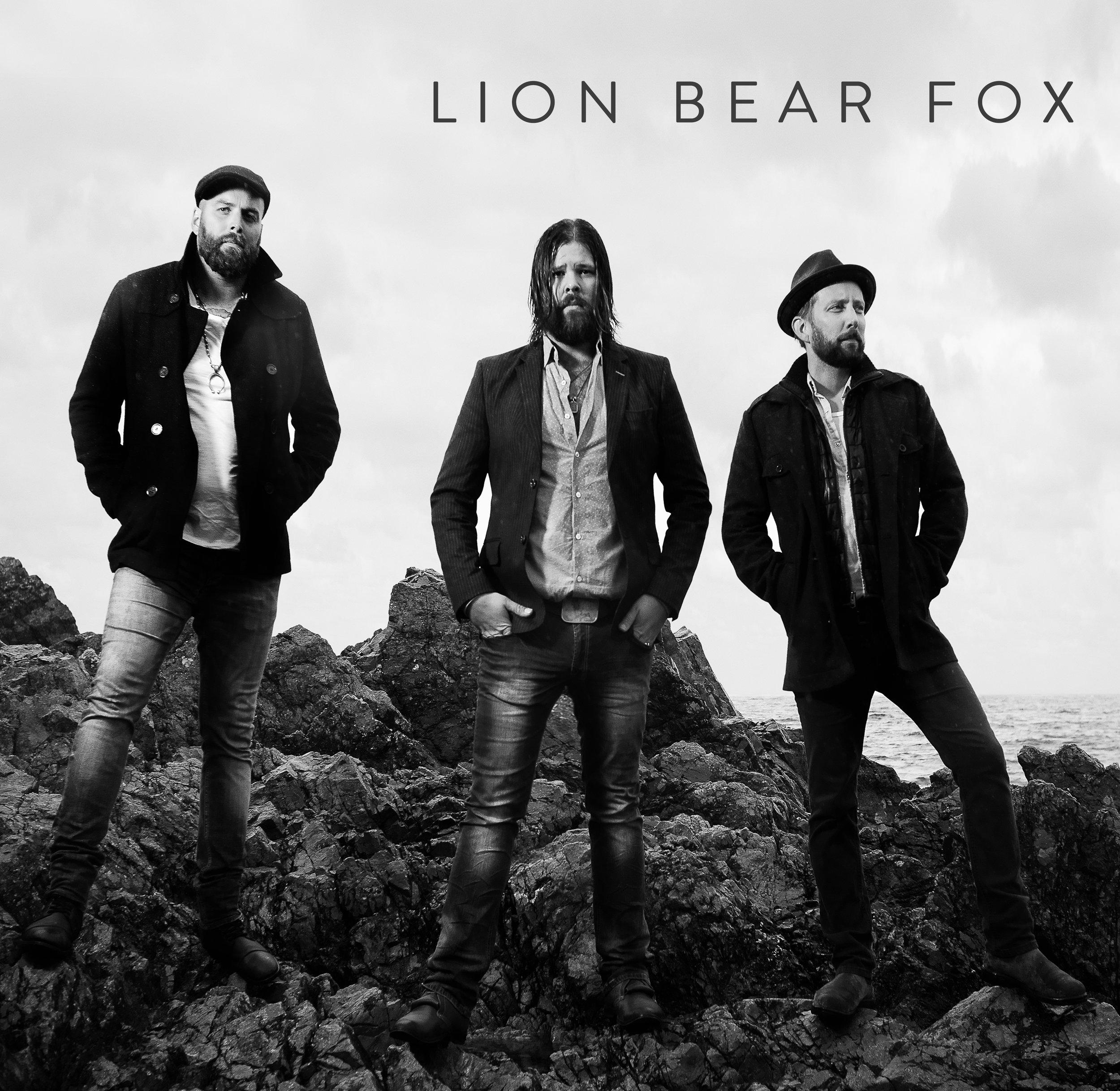 Lion Bear Fox album cover - Photo Credit: Tyler Simpson Photography