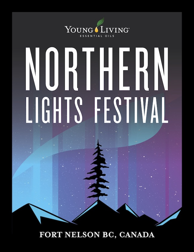 Northern Lights festival - As a consultant, curating a festival is a fun and challenging experience. Here, the city of Fort Nelson has the goal to bring great Canadian talent under the Northern Lights for an experience like no other available in Canada. From sled dog races, community events and musical artists, this two week long celebration is unmatched for talent and natural wonders. #Bucketlist #FortNelson #NorthernLights #NLF2019One weekend of country and one weekend of roots rock to wake up the senses and delight the whole family. Spend your Spring Break checking off more than one item on your bucket list.