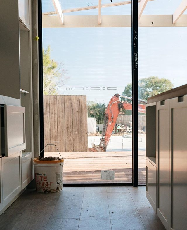 | Process | Sharing a back fence with another build in Mornington.⁠ .⁠ .⁠ .⁠ 📸 @onetooagency⁠ #construction #building #newhome #build #builder #morningtonpeninsula #joinery #cabinetry #propertydevelopment⁠