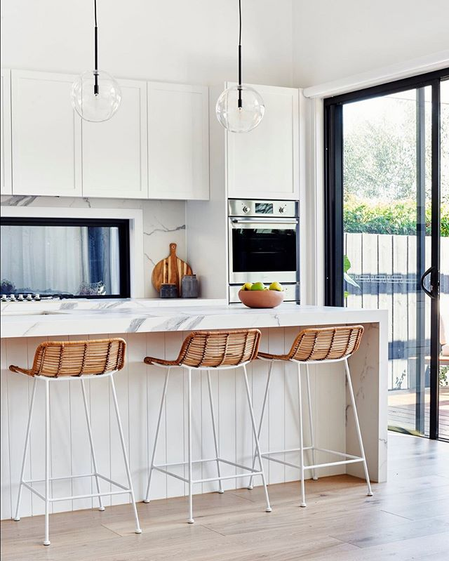 Kitchen | Classic details in a contemporary layout.