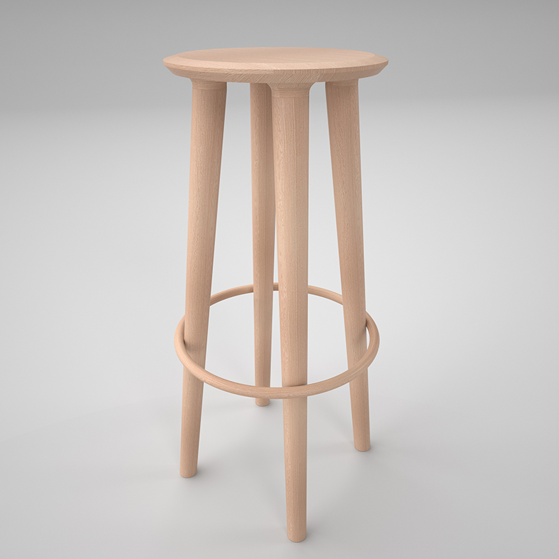 Lex Stobie,  Halo Stool,  2015 .  Image courtesy of the artist.