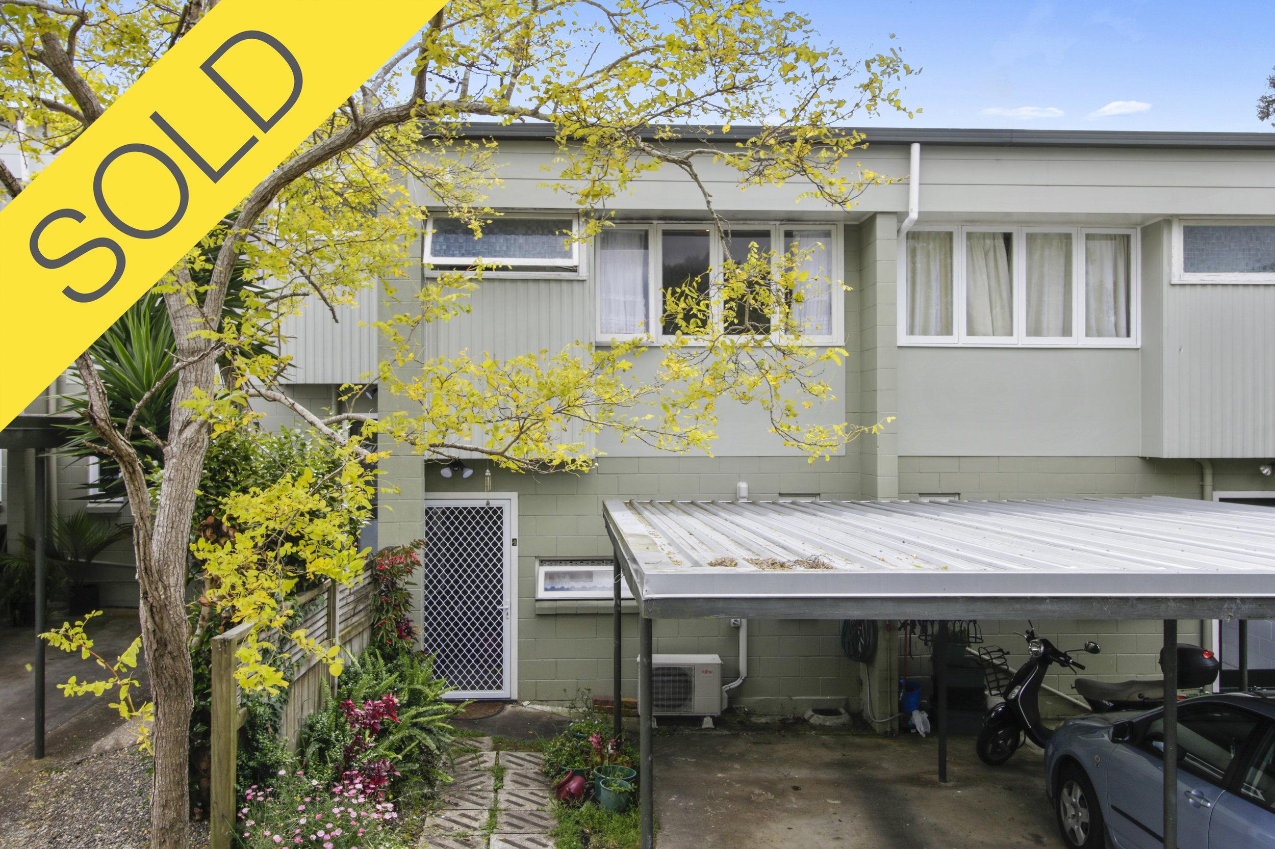 4/41A Mariri Road, Onehunga, Auckland - SOLD JANUARY 20182 Beds | 1 Bath | 1 Parking