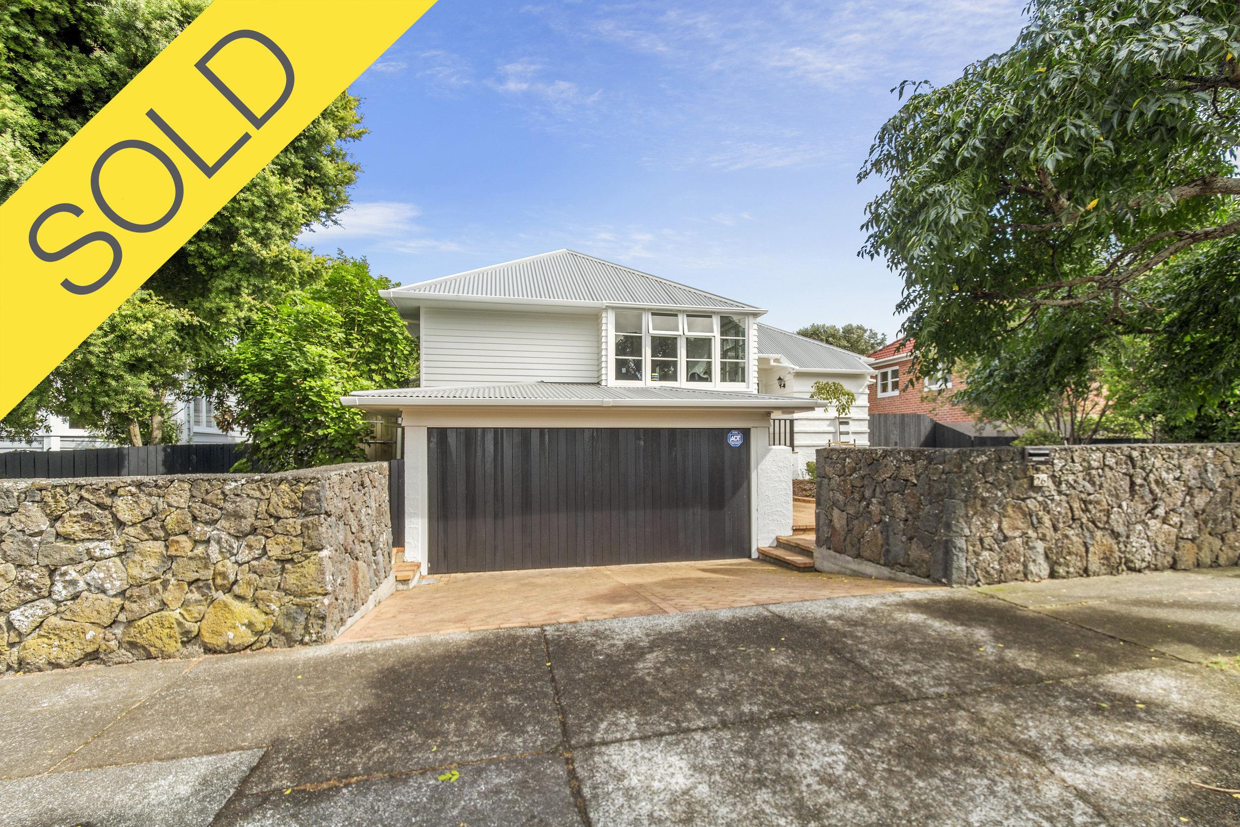 26 Athens Road, Onehunga, Auckland - SOLD APRIL 20183 Beds | 1 Bath | 2 Parking