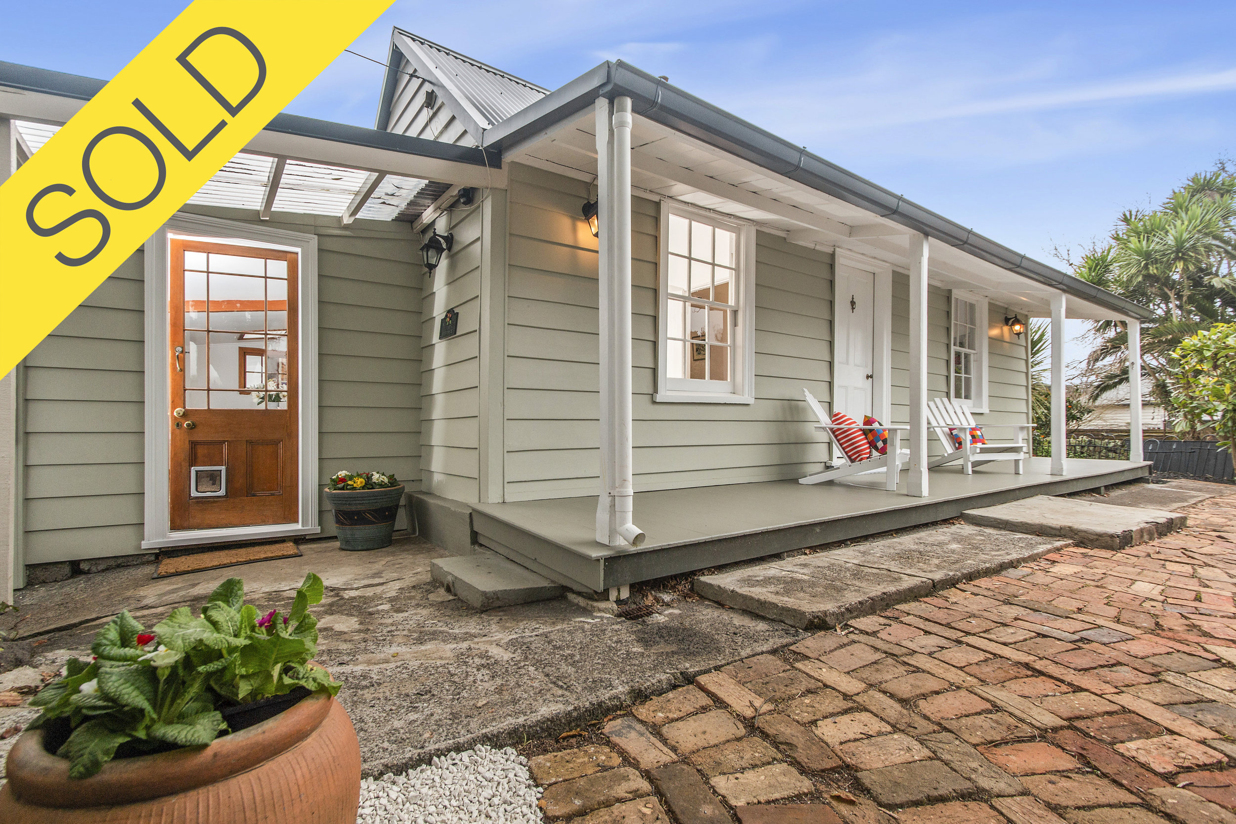 168 Grey Street, Onehunga, Auckland - SOLD SEPTEMBER 20183 Beds I 1 Bath I 4 Parking